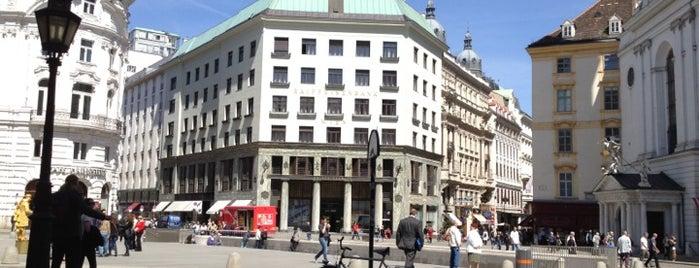 Michaelerplatz is one of StorefrontSticker #4sqCities: Vienna.