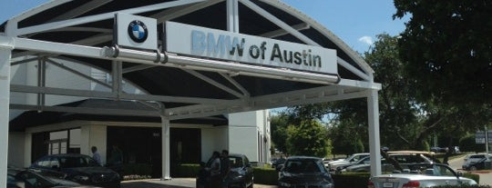 BMW of Austin is one of my places.