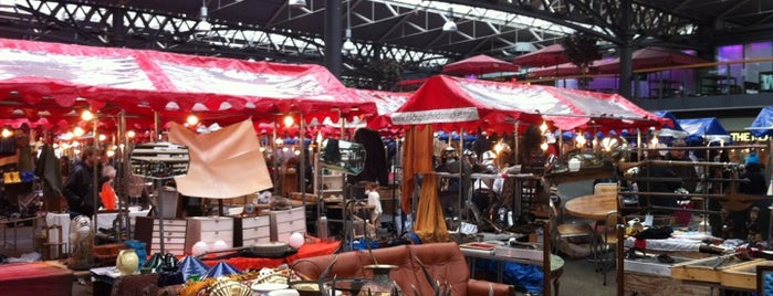 Old Spitalfields Market is one of London markets.