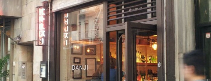 Danji is one of 2013 NYC Michelin Starred Restaurants.