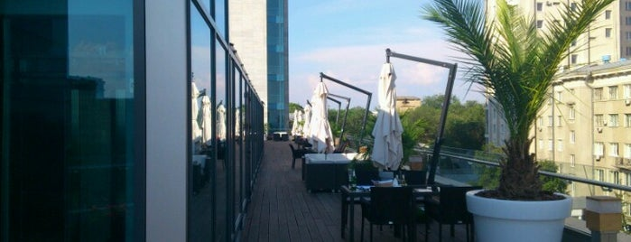 The Terrace Grill Restaurant is one of Kharkov.