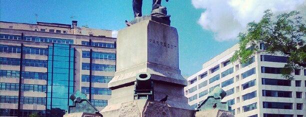 Farragut Square is one of Virginia/Washington D.C..