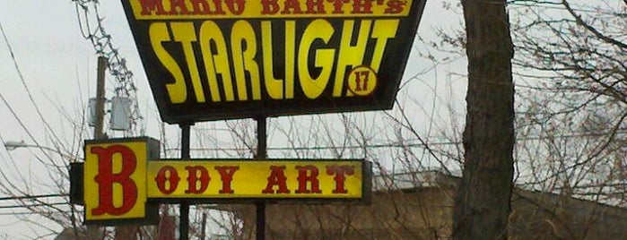 Mario Barth's Starlight Tattoo is one of Places I been to before in my life.