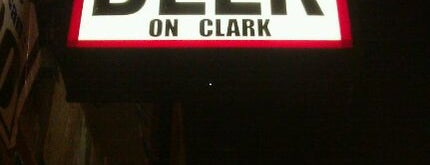 Beer On Clark is one of Official Blackhawks Bars.