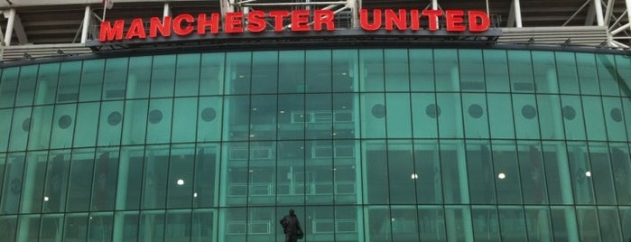 Old Trafford is one of Barclays Premier League Grounds & Stadiums 2013/14.