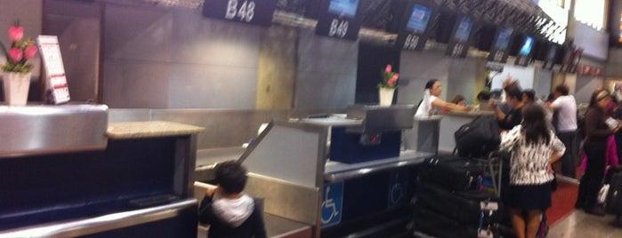 Check-in TAM is one of Aeroporto de Guarulhos (GRU Airport).