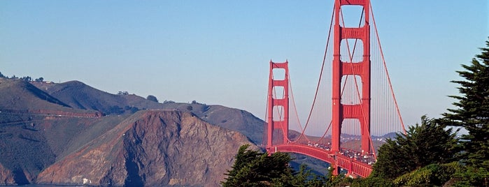 Golden Gate Bridge is one of San Francisco's Best Great Outdoors - 2012.