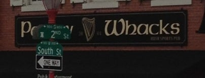 Paddy Whacks Irish Sports Pub is one of PSN Sponsor Bars.