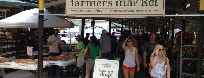Ann Arbor Farmers' Market is one of Ann Arbor, MI.