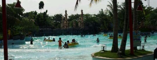 Ciputra Waterpark is one of Sparkling Surabaya.