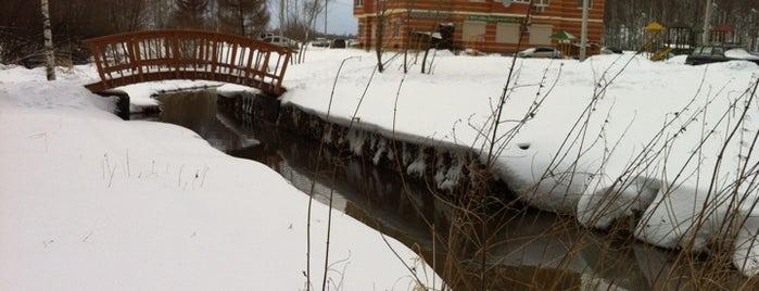 Мост через речку Лобня is one of Лобня.