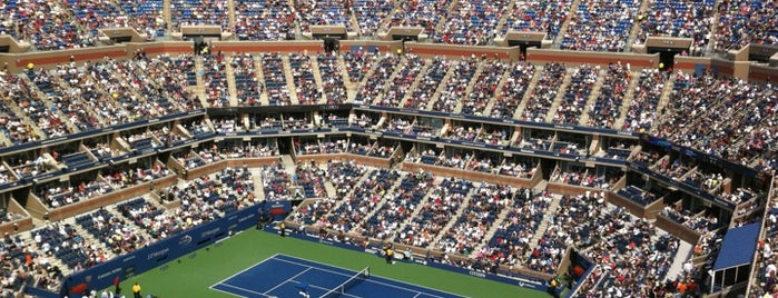 Arthur Ashe Stadium is one of US Open.