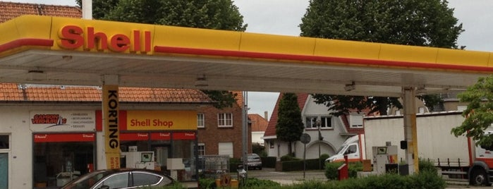 Shell is one of Gasoline stations at Belgium.