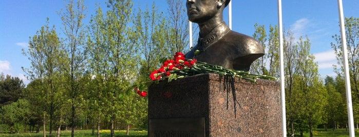 Сестрорецкий рубеж is one of Sights in Saint Petersburg & suburban places.