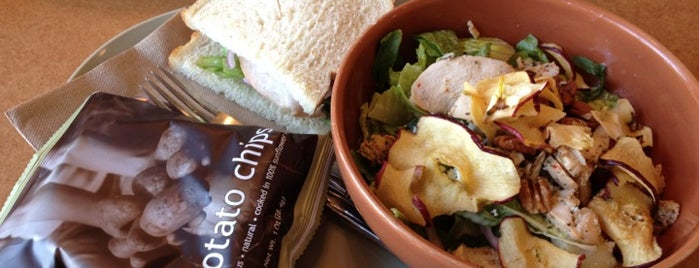 Panera Bread is one of 20 favorite restaurants.