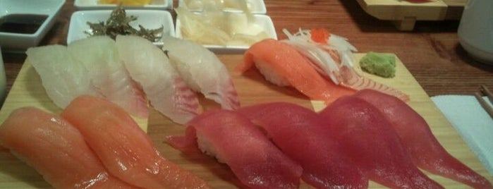Kuma Sushi is one of Eat first.