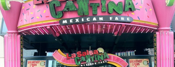 La Salsa Cantina is one of Recommendations from you to me 4square and 4cast.