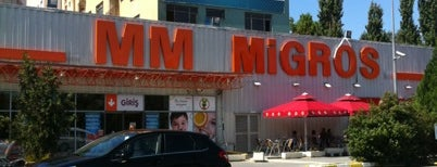 Migros is one of Istambul food.
