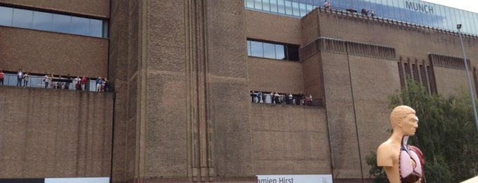 Tate Modern is one of Summer in London/été à Londres.
