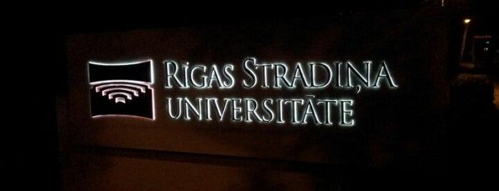 Riga Stradiņš University is one of Foursquare LV BrandPages HQ.