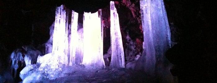 Narusawa Ice Cave is one of ski bum.