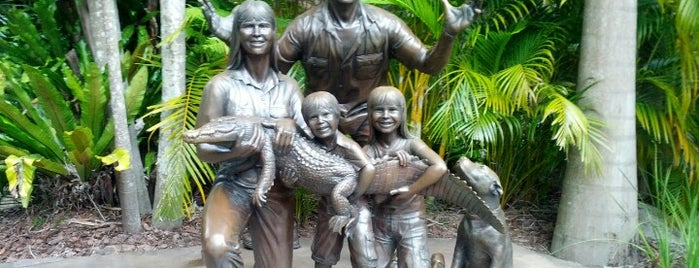 Australia Zoo is one of Great Family Holiday Attractions Around Australia.