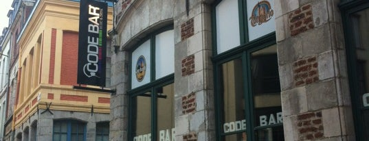 Code Bar is one of Must-visit Bars in Lille.