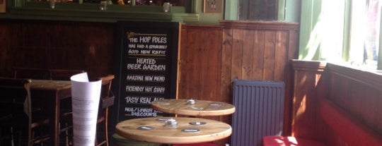 The Hop Poles is one of Dog Friendly Brighton.