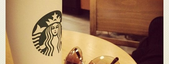 Starbucks is one of places.