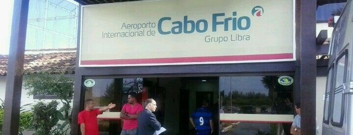 Aeroporto Internacional de Cabo Frio (CFB) is one of Aeroportos do Brasil.