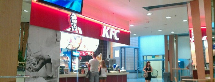 KFC is one of Wroclaw-erasmus.