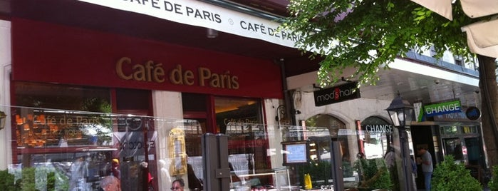 Café de Paris is one of Restaurants.