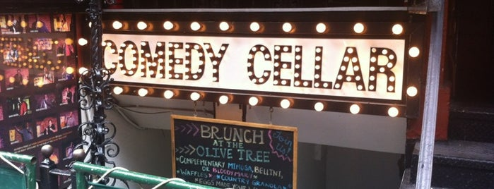 Comedy Cellar is one of Places to take NYC Visitors!.