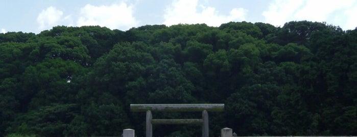 允恭天皇 惠我長野北陵 (市ノ山古墳) is one of 天皇陵.