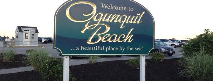 Ogunquit Beach is one of Maine & New Hampshire.