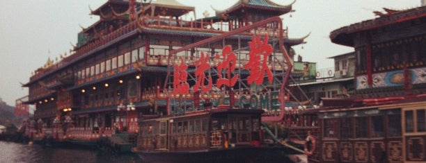 Jumbo Kingdom (Jumbo Floating Restaurant) is one of Hongkong.