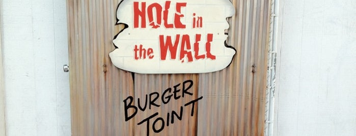 Hole in the Wall Burger Joint is one of LA Absolute Favorites.