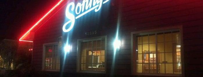 Sonny's BBQ is one of 20 favorite restaurants.