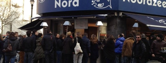 La Mer du Nord is one of Best Restaurants of Brussels.