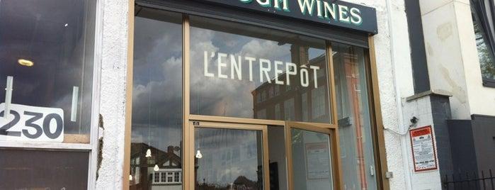 L'entrepôt is one of HFA in London: Delicatessen.
