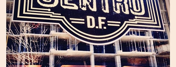 El Centro D.F. is one of dc drinks + food + coffee.