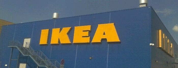 IKEA is one of Warsaw pacz WARSZAWA.