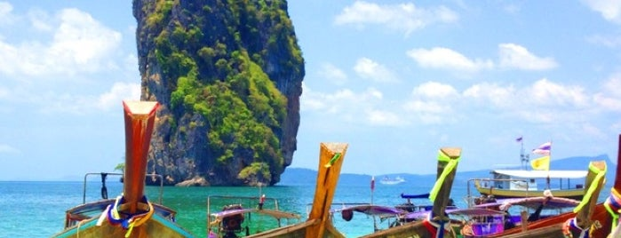 Poda Island is one of Krabi.