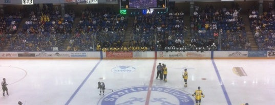 Carlson Center is one of 2012-13 Merrimack College Hockey Road Trips.