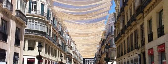 Calle Marqués de Larios is one of Sitios frecuentes.