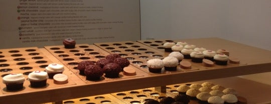 Sprinkles Cupcakes is one of LA eats.