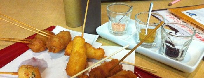Kushiage Dining Horon is one of Food Paradise.