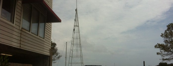 Manteo Weather Tower is one of Outter Banks, NC.