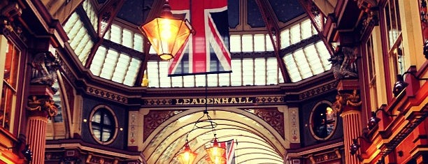 Leadenhall Market is one of Evermade.com.