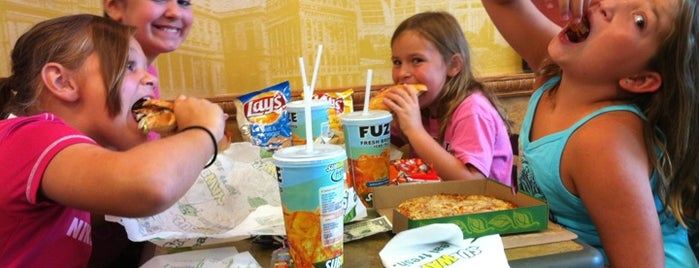 Subway is one of Top 10 restaurants when money is no object.